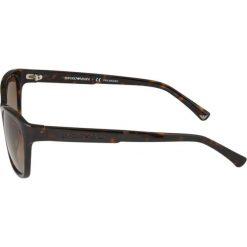 Emporio Armani Okulary przeciwsłoneczne havana. Brązowe okulary przeciwsłoneczne damskie marki Emporio Armani. W wyprzedaży za 487,20 zł.