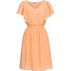 Sukienki: Sukienka bonprix morelowy