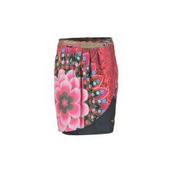 Spódnice krótkie Desigual  IJINALO. Różowe minispódniczki marki Desigual. Za 169,95 zł.