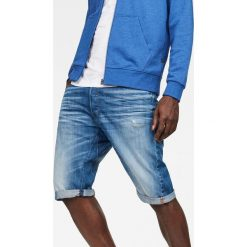 G-Star Raw - Szorty Arc. Szare spodenki jeansowe męskie marki G-Star RAW, casualowe. W wyprzedaży za 379,90 zł.