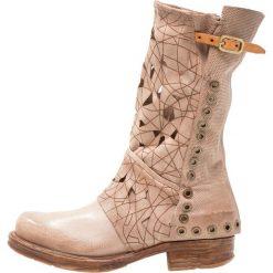A.S.98 Kowbojki i Buty motocyklowe rino. Różowe buty zimowe damskie marki A.S.98, z materiału. W wyprzedaży za 811,30 zł.