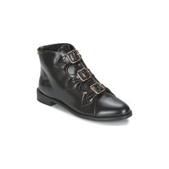Botki F-Troupe  Triple Buckle Boot. Czarne botki damskie F-Troupe. Za 587,30 zł.