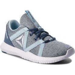 Buty Reebok - Reago Essential CN5188 Blue Slate/Drmy Blue/Wht. Niebieskie buty do fitnessu damskie marki Reebok, z materiału. W wyprzedaży za 169,00 zł.