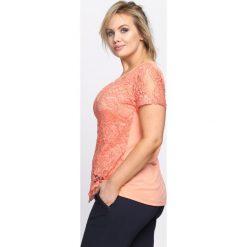 Bluzki damskie: Pomarańczowa Bluzka Daily Dancer