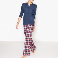 Bielizna damska: Piżama z kraciastymi spodniami