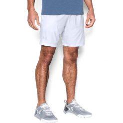 Odzież sportowa męska: Under Armour Spodenki męskie UA CAGE SHORT białe r. L (1304127-100)