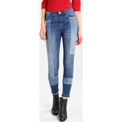 Boyfriendy damskie: OVS Jeans Skinny Fit dark blue