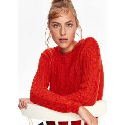 Swetry klasyczne damskie: PUDEŁKOWY SWETER DAMSKI