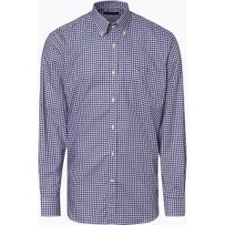 Paul & Shark - Koszula męska łatwa w prasowaniu, niebieski. Niebieskie koszule męskie non-iron marki Paul & Shark, m, w kratkę, z bawełny, button down. Za 549,95 zł.