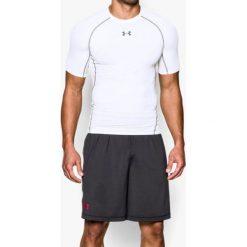 Odzież termoaktywna męska: Under Armour Koszulka termoaktywna HeatGear Compression Shortsleeve M biała r. XS (1257468-100)