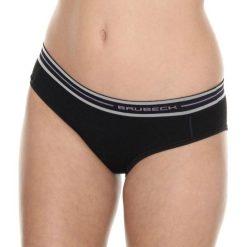 Figi: Brubeck Figi damskie hipster Active Wool czarne r. XL (HI10190)