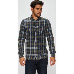 Blend - Koszula. Szare koszule męskie na spinki marki S.Oliver, l, z bawełny, z włoskim kołnierzykiem, z długim rękawem. W wyprzedaży za 139,90 zł.