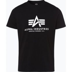 T-shirty męskie z nadrukiem: Alpha Industries – T-shirt męski, czarny