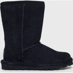 Bearpaw - Śniegowce Elle Short. Czarne śniegowce damskie Bearpaw, z materiału. W wyprzedaży za 359,90 zł.