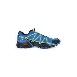 Buty do biegania Salomon  SPEEDCROSS 4 CS. Czarne buty do biegania męskie marki Salomon, z gore-texu, na sznurówki, gore-tex. Za 536,64 zł.