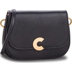 Torebka COCCINELLE - CK0 Craquante Smooth E1 CK0 55 01 01 Noir 001. Czarne listonoszki damskie Coccinelle, ze skóry. W wyprzedaży za 799,00 zł.