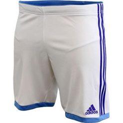 Adidas Spodenki Volzo15 biało-niebieskie r. XL (S08941). Białe spodenki sportowe męskie Adidas, m. Za 31,60 zł.
