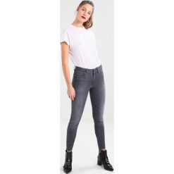 GStar SHAPE HIGH SUPER SKINNY  Jeans Skinny Fit render grey ultimate stretch denim. Szare jeansy damskie G-Star, z bawełny. Za 659,00 zł.