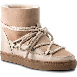 Buty INUIKII - Sneaker Classic 70202-5 Beige. Brązowe buty zimowe damskie Inuikii, ze skóry, na niskim obcasie. Za 1049,00 zł.