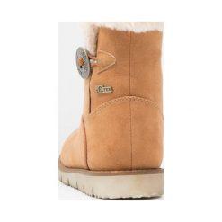 S.Oliver RED LABEL Śniegowce cognac. Brązowe buty zimowe damskie marki s.Oliver RED LABEL, z materiału. W wyprzedaży za 155,35 zł.