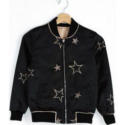 Odzież chłopięca: Czarna Kurtka Rock Star
