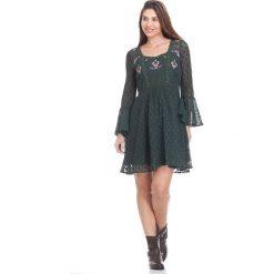 Sukienki hiszpanki: Sukienka w kolorze zielonym
