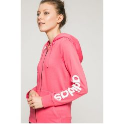 Adidas Performance - Bluza. Różowe bluzy z kapturem damskie marki adidas Performance, s, z nadrukiem, z bawełny. W wyprzedaży za 179,90 zł.