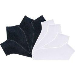 Skarpetki stopki GO IN (8 par) bonprix czarny +biały. Białe skarpetki męskie marki bonprix. Za 31,92 zł.