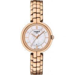 PROMOCJA ZEGAREK TISSOT T-Lady T094.210.33.111.01. Białe zegarki damskie TISSOT, ze stali. W wyprzedaży za 1452,00 zł.