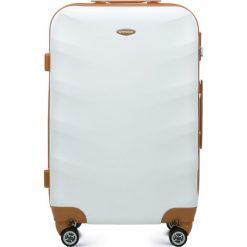 Walizka średnia 56-3A-232-88. Białe walizki marki Wittchen, z gumy, średnie. Za 179,00 zł.