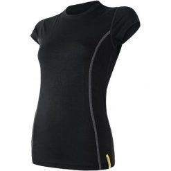Sensor Koszulka Sportowa Damska Active Black Xl. Czarne bluzki sportowe damskie marki Sensor, xl, z krótkim rękawem. W wyprzedaży za 49,00 zł.