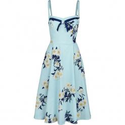 H&R London Vintage Blue Daisy Dress Sukienka jasnoniebieski. Niebieskie sukienki H&R London, l, vintage. Za 121,90 zł.