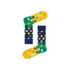 Skarpetki Happy Socks BDB01-6000. Brązowe skarpetki męskie Happy Socks, z bawełny. Za 24,43 zł.