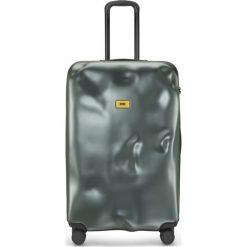 Walizka Icon duża zielona. Szare walizki marki Crash Baggage, z materiału. Za 1120,00 zł.