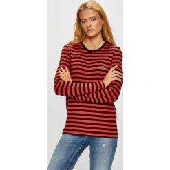 Femi Stories - Bluzka Lonly. Niebieskie bluzki z odkrytymi ramionami marki DOMYOS, z elastanu, street, z okrągłym kołnierzem. Za 149,90 zł.