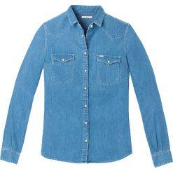 Koszule body: Koszula z cienkiego dżinsu, długi rękaw