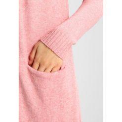 Swetry damskie: Vila VIRIL LONG CARDIGAN Kardigan bridal rose/melange