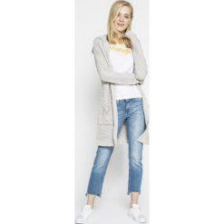Lee - Jeansy Elly. Niebieskie jeansy damskie Lee, z bawełny. W wyprzedaży za 229,90 zł.