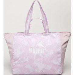 Puma - Torba. Szare torebki klasyczne damskie Puma, z materiału. W wyprzedaży za 99,90 zł.