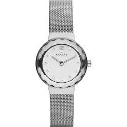Zegarek SKAGEN - Leonora 456SSS Silver/Steel/Silver/Steel. Szare zegarki damskie Skagen. Za 509,00 zł.