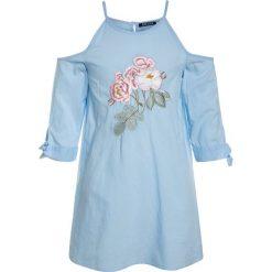 Sukienki dziewczęce letnie: Blue Seven CUT OFF SHOULDER Sukienka letnia sky