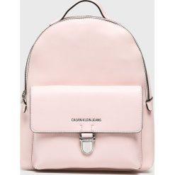 Calvin Klein Jeans - Plecak. Szare plecaki damskie marki Calvin Klein Jeans, z jeansu. Za 629,90 zł.