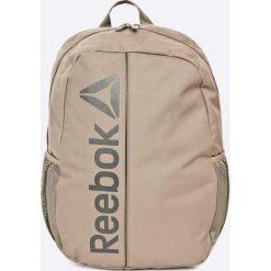 Reebok - Plecak. Szare plecaki męskie Reebok, z materiału. W wyprzedaży za 59,90 zł.