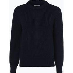 Minimum - Sweter damski – Mikala, niebieski. Niebieskie swetry klasyczne damskie Minimum, s, z bawełny. Za 259,95 zł.