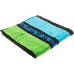 """Kąpielówki męskie: Ręcznik plażowy """"Daisy"""" w kolorze zielono-niebiesko-turkusowym – 160 x 86 cm"""