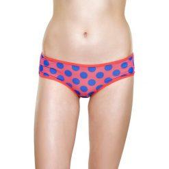 Happy Socks - Figi Woman Mesh. Różowe figi Happy Socks, l, z bawełny. W wyprzedaży za 49,90 zł.