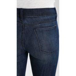 GAP GENOA Jeans Skinny Fit dark indigo. Niebieskie boyfriendy damskie GAP. Za 169,00 zł.