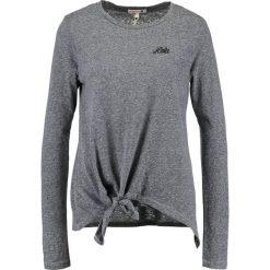 Bluzki asymetryczne: Sundry KNOTTED HOLA Bluzka z długim rękawem heather grey