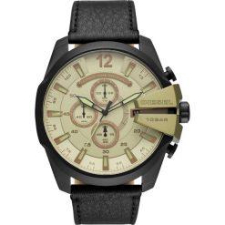 Zegarek DIESEL - Mega Chief DZ4495 Black/Black. Czarne zegarki męskie Diesel. Za 1199,00 zł.