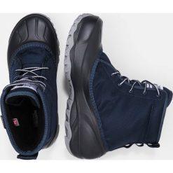 The North Face TSUMORU Buty trekkingowe ink blue/griffi. Niebieskie buty trekkingowe damskie marki The North Face, z materiału. W wyprzedaży za 399,20 zł.